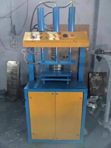 Semi Automatic Single/Double Die Machine (Hydrolic Model)